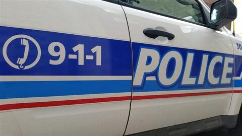 Une voiture du Service de police d'Ottawa. (Archives)