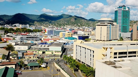 La capitale de Trinité-et-Tobago, Port of Spain