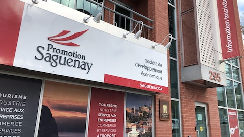 La façade de Promotion Saguenay