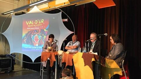 Table ronde sur le racisme systémique dans le cadre de la Semaine pour l'élimination de la discrimination raciale à Val-d'Or