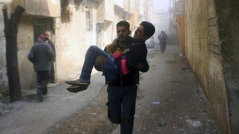 Syrie: la guerre dévaste la Ghouta