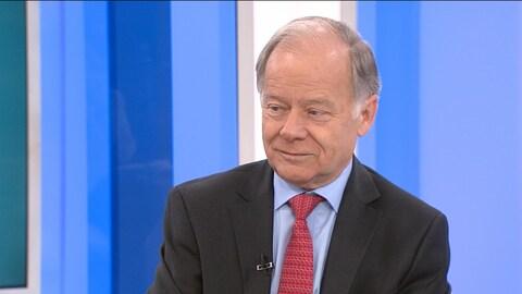 Raymond Bachand, négociateur en chef du Québec pour la négociation de l'ALENA