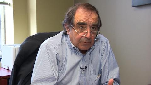 Le président de Gastem, Raymond Savoie