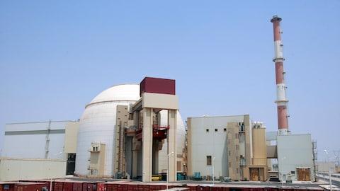 Une centrale nucléaire en Iran.