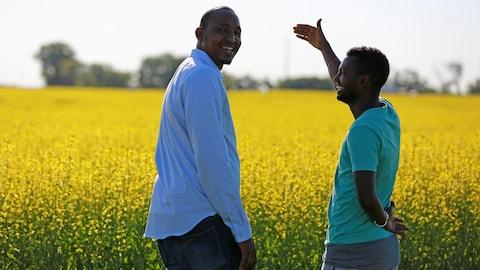 Abdikadir Ahmed Omar et Guled Abdi  Omar