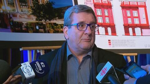 Le maire de Québec Régis Labeaume.