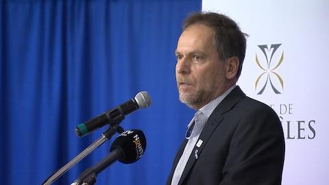 Réjean Porlier est réélu pour un second mandat à la mairie de Sept-Îles