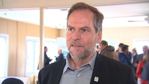 Réjean Porlier est le maire de Sept-Îles.