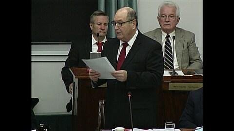 Allen Roach, ministre des Finances de l'Île-du-Prince-Édouard