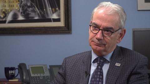 Robert Lafrenière, commissaire de l'Unité permanente anticorruption