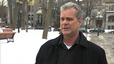 Roger Larivière, policier à la retraite du SPVM