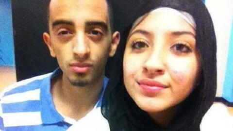 Photo de Sabrine Djermane et El Mahdi Jamali, un jeune couple de Montréalais arrêté en avril 2015 et accusé de terrorisme.