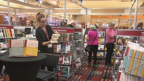 Le Salon du livre de Trois-Rivières a lieu encore cette année au Centre des congrès de l'Hôtel Delta.
