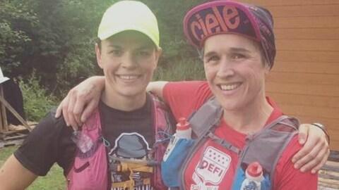 Sarah Verguet-Moniz et Tania Rancourt