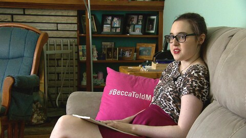 Rebecca Schofield en entrevue
