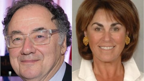 Barry Sherman et sa femme Honey Sherman.