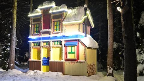 Le Village du père Noël, à Shippagan