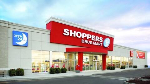 Shoppers Drug Mart exploite la bannière Pharmaprix au Québec