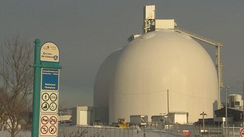 Les silos de l'Anse-au-Foulon