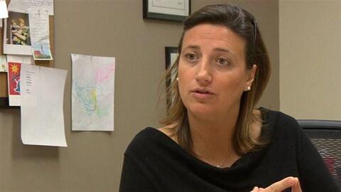La directrice et rédactrice en chef de «La Liberté», Sophie Gaulin