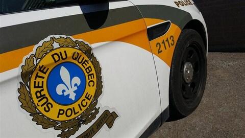 Une voiture de la Sûreté du Québec.