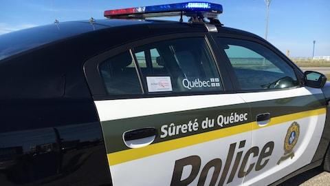 Nouveau véhicule de la Sûreté du Québec