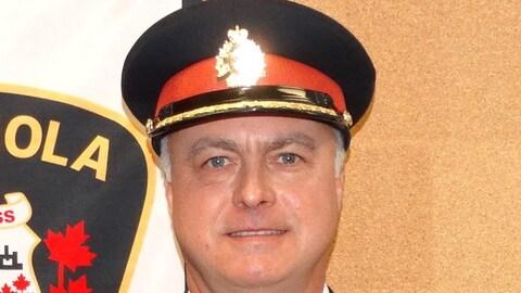 Le chef de la police d'Espanola Steven Edwards.