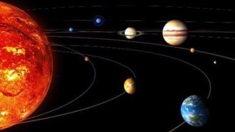 Impression artistique de notre système solaire.