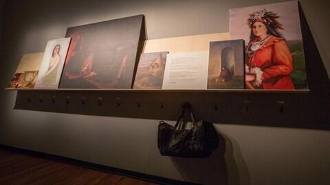 Oeuvre de Sylvie Paré, artiste visuelle huronne-wendate
