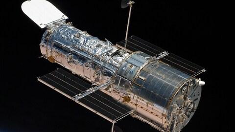 Le téléscope spatial Hubble.