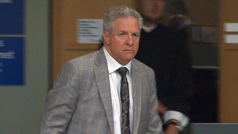 Tony Accurso, qui subit un procès pour fraude et corruption au palais de justice.
