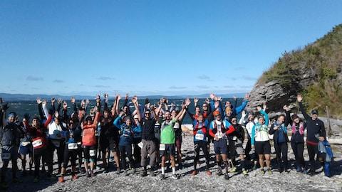 Les participants du Ultra-Trail du Bout du monde