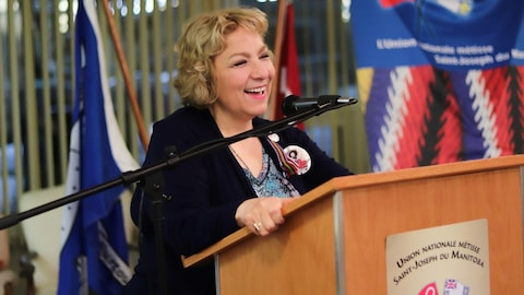 Paulette Duguay, présidente de l'Union nationale métisse Saint-Joseph du Manitoba.