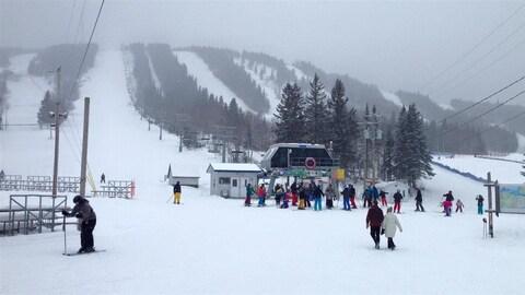 La station de ski Val-d'Irène.