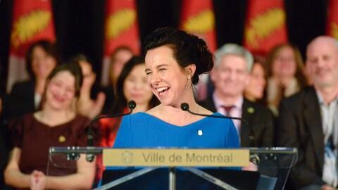 Valérie Plante.