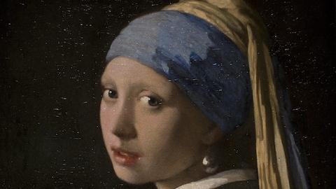 La jeune fille à la perle  de Vermeer