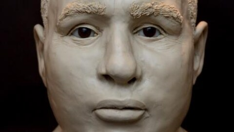 sculpture de la victime : traits afro-européens