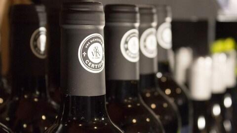 L'étiquette de certification Vins du Québec