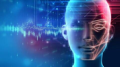 Un visage humain virtuel
