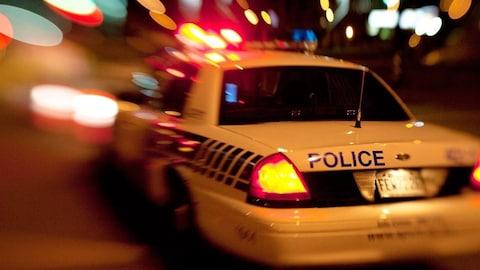Voiture de police du SPVM