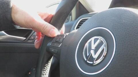 Au volant d'une Volkswagen