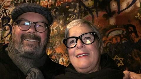 Louise Malaison et Ghislain Tremblay
