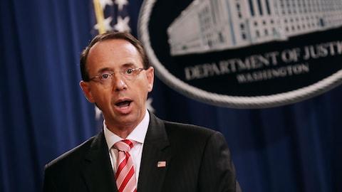 Rod Rosenstein, procureur adjoint des États-Unis
