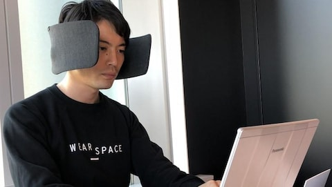 Le Wear Space de Panasonic à l'essai.