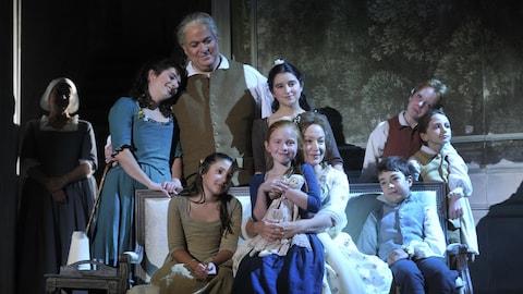 Les personnage de l'opéra « Werther »