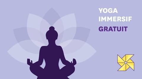 Affiche de Yoga immersif gratuit