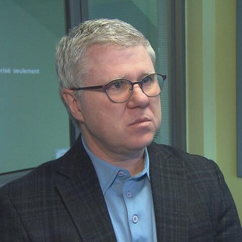 Le directeur d'Hydro-Sherbrooke, Christian Laprise.