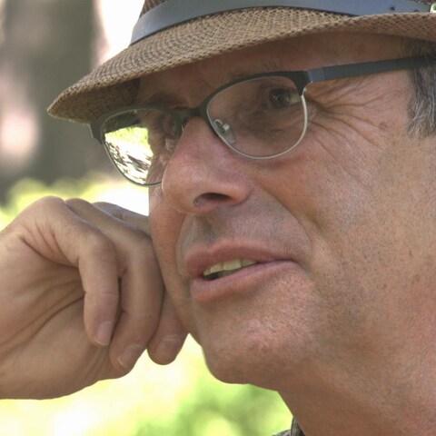 Le journaliste Richard l'Heureux doit vivre avec les séquelles d'un traumatisme crânien et d'une sévère commotion cérébrale.