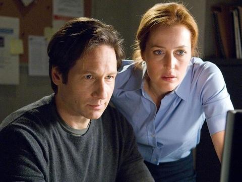 David Duchovny et Gillian Anderson dans le film «X-Files : je veux y croire».