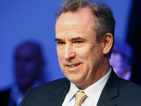 L'ex-directeur général de LafargeHolcim Eric Olsen.